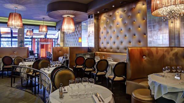 Décoration raffinée - Le Café de l'Est, Paris