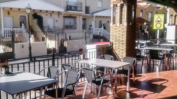 Vista terraza - La Manduca, Ogijares