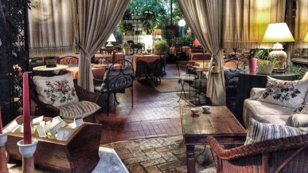 Sala coperta - Al Cantuccio, Rome