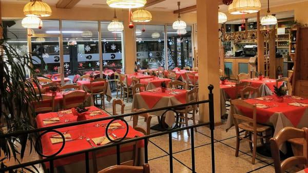 Sala - Ristorante Pizzeria Cirano, Malcesine
