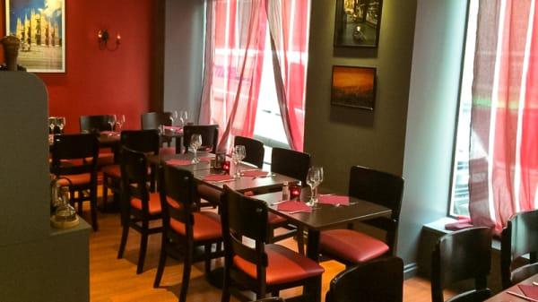 Salle du restaurant - Tesoro d'Italia, Paris