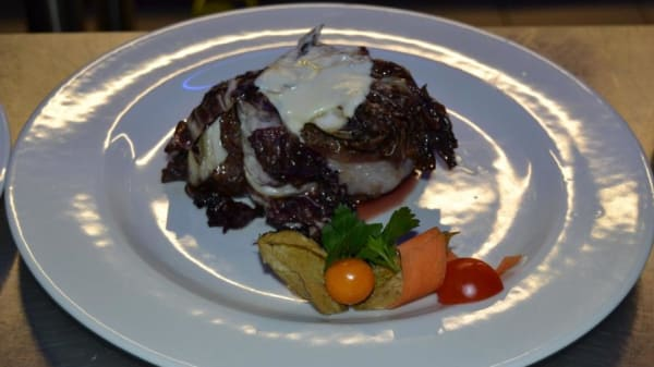 piatto tipico - Fonte Gaia, Siena