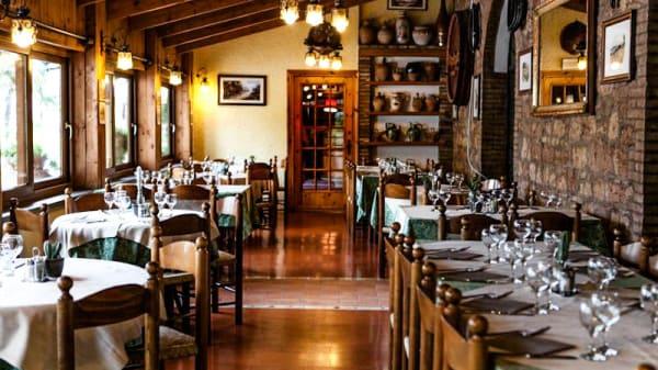 La sala con la veranda - Villa Elda, Santa Maria degli Angeli
