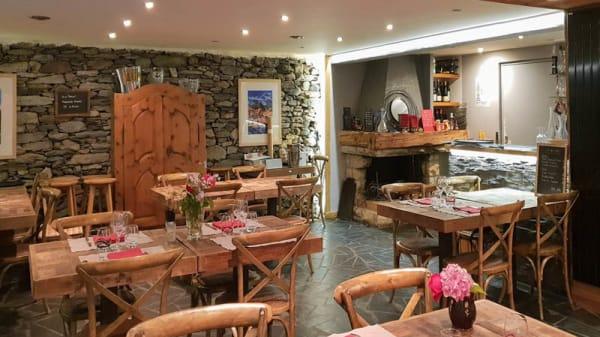 Vue de la salle - Restaurant Goyet, Villaroger