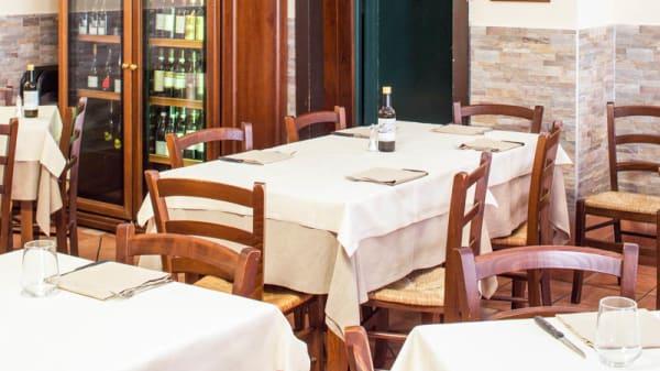 Sala del ristorante - Ostaria al Vecio Pozzo, Venice