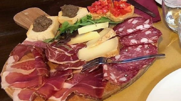 Sugerencia del chef - La Corte Medicea, Montepulciano