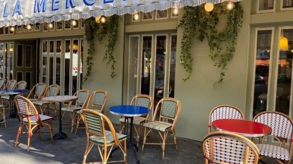 Terrasse - La Mercerie, Paris