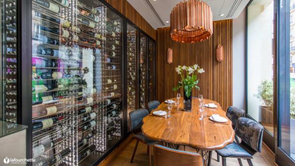 Salle du restaurant - Odette, Paris-1ER-Arrondissement