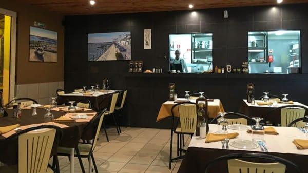Sala do restaurante - Sabores da Ria, Cabanas