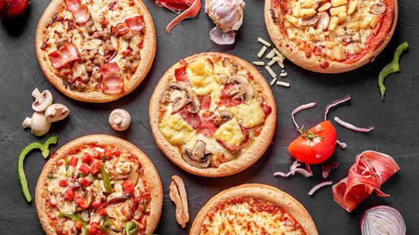 Buffet pizza - Citytrip Mons, Mons