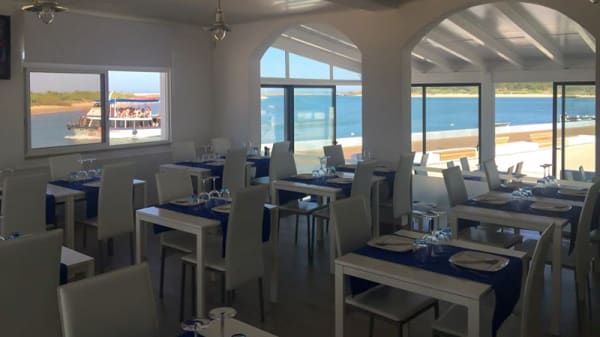 Sala do restaurante - Vista Mar Marisqueira, Tavira