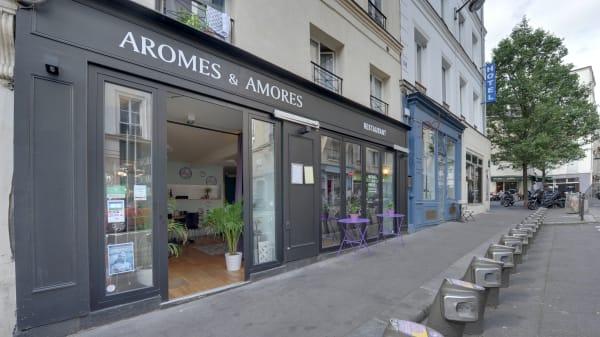 Devanture - Amores, Paris