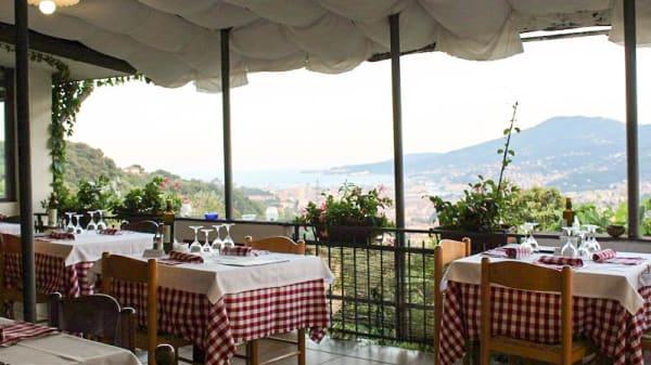 Vista sala - Vecchia Osteria San Rocco, La Spezia