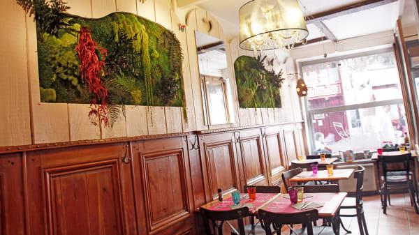 Vue de l'intérieur - La Petite Table, Lille