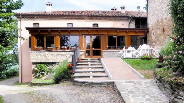 esterno - Cà Monti, Fontanelice