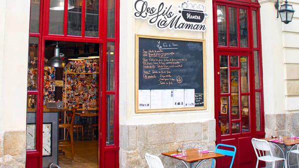 Façade du fils à maman - Les Fils à Maman Nantes, Nantes
