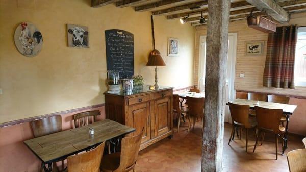 Salle du restaurant - Le Clos des Pommiers, Gonneville-sur-Mer
