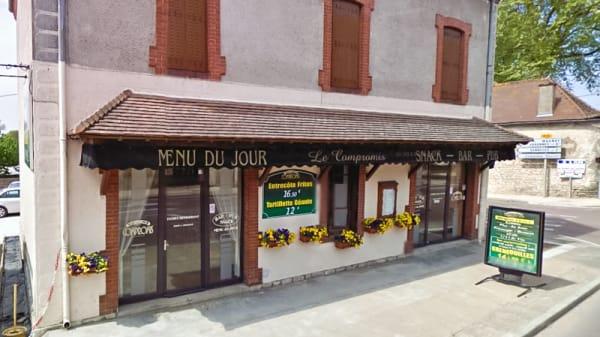 Devanture - Le Compromis, Ouroux-sur-Saône