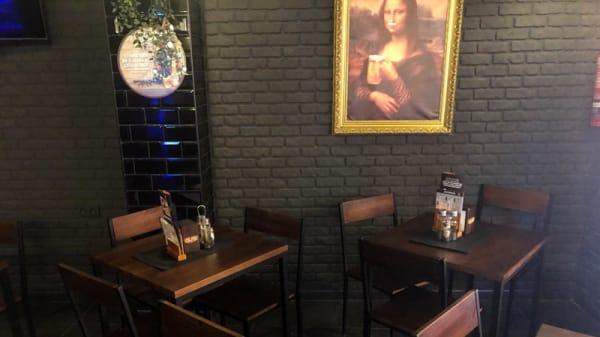 Vista del interior - Calipso Tattoo Beer & Coffee, Valencia