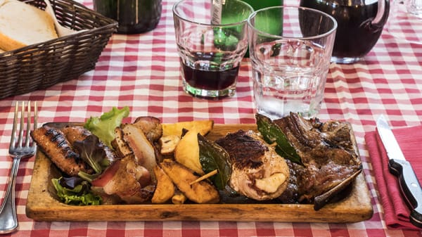Misto di carne alla brace - La Colonnetta, Grottaferrata