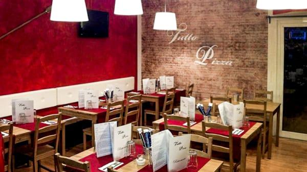 La sala - Tutto Pizza, San Quirico de Tarrasa