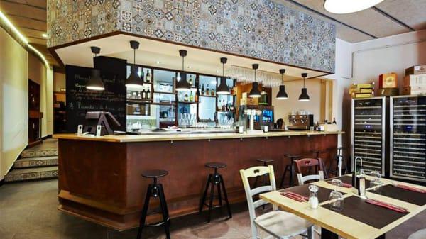 Vista sala - El Farcell, Mataró