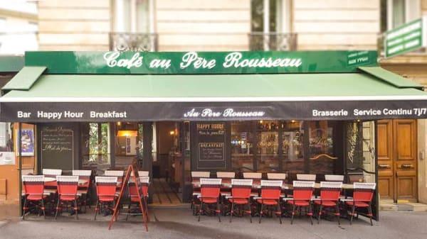 devanture / extérieur - Au Père Rousseau, Paris