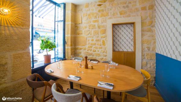 Salon du restaurant - Ribote, Neuilly-sur-Seine