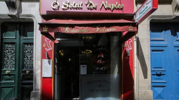 Entrée - Le Soleil de Naples, Paris