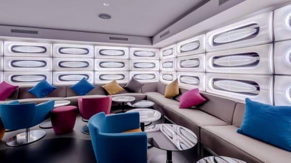 Vue de la salle - Le Monte Cristo Lounge, Paris