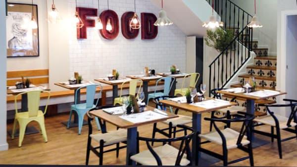 El estilo - Bocados Café - Ortega y Gasset 55, Madrid