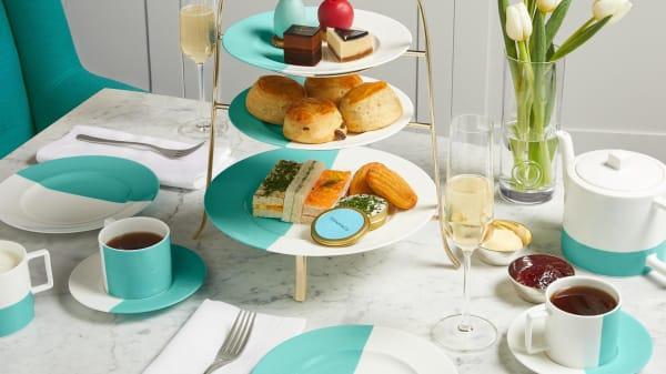 Tiffany Afternoon Tea  - The Tiffany Blue Box Cafe, London