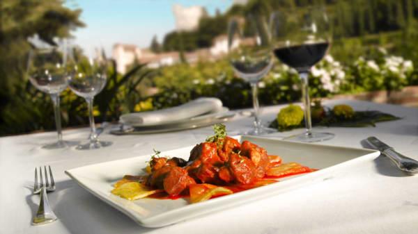 Sugerencia del chef - Restaurante Parador de Granada, Granada