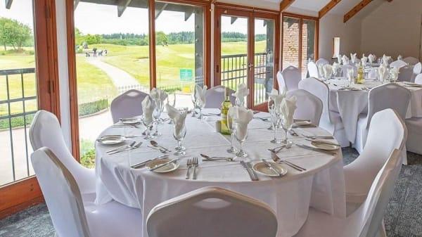 Room's view - Paultons Golf Centre, Romsey