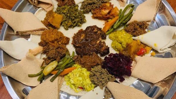 Platter - Ge'ez Ethiopian Restaurant, Brunswick (VIC)