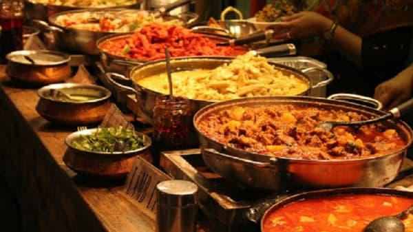 buffet - Punjab Indian, København