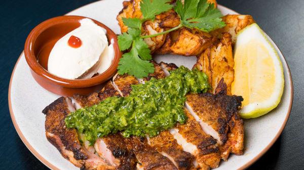 Grilled Chicken - Cumbia Bar - Kitchen, Adelaide (SA)