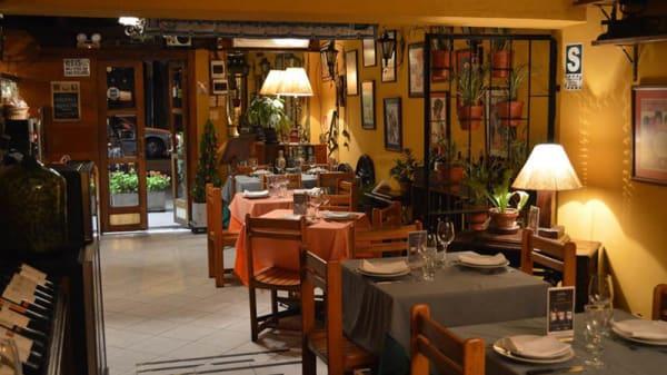 Vista de la sala - Costumbres Argentinas, Lima