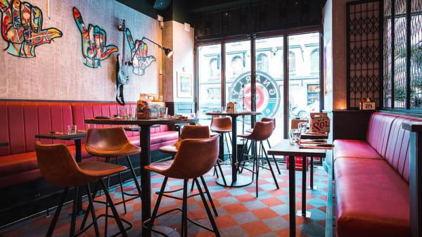 Rum - Gnarly Burger Stureplan, Stockholm