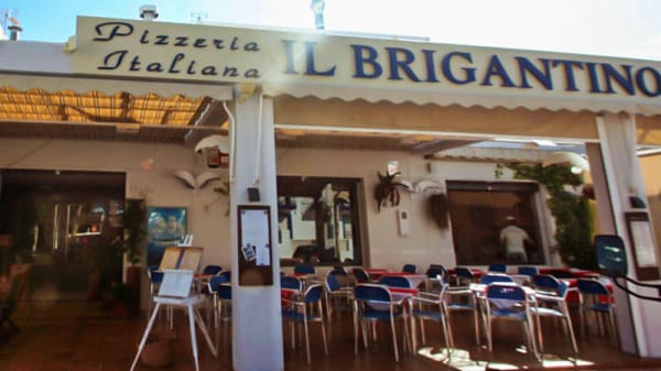 Vista entrada - Il Brigantino Puerto, La Isleta