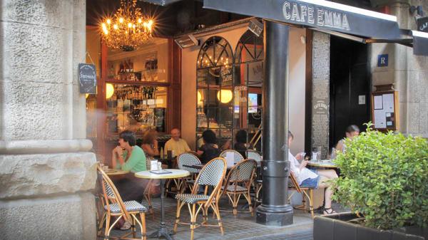 vista terraza - Café Emma, Barcelona