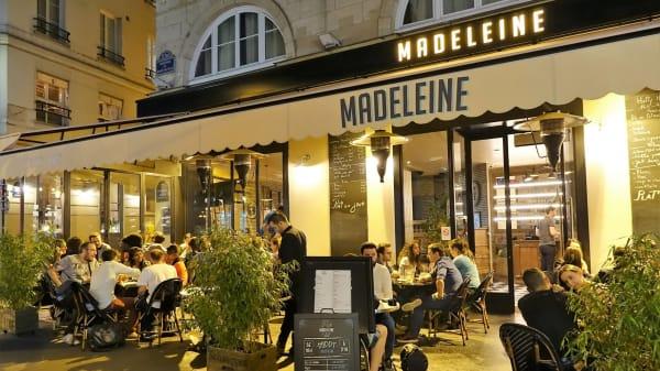 Terrasse - Madeleine, Paris