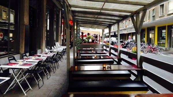 Terrasse - Le Réservoir, Genève