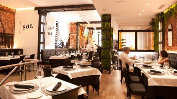 Vista de la sala - Madrid Grill, Madrid