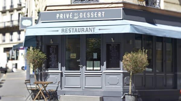 Privé de Dessert - Privé de Dessert, Paris