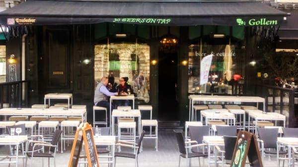 Devanture - Gollem's Beers & Burgers, Antwerp