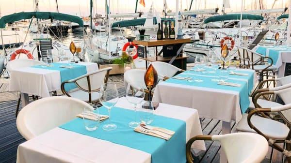 Terraza - La Bocana Fusion Harbour Club, Sitges