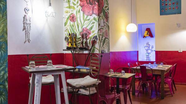 Vista sala - Alma latina Cucina Messicana senza glutine dal 1993, Torino