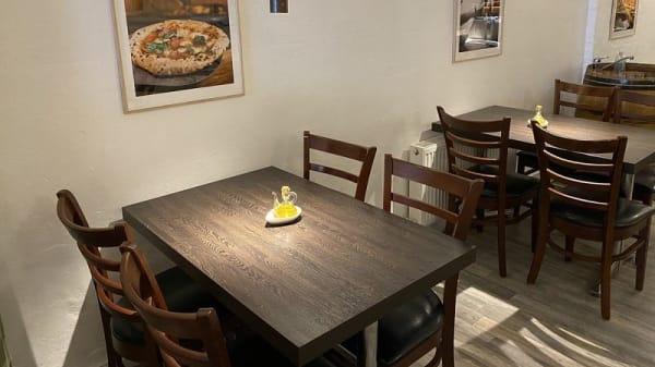 Restaurantens udsigt - La Casa di Antonio - Surdejspizzeria, Aarhus