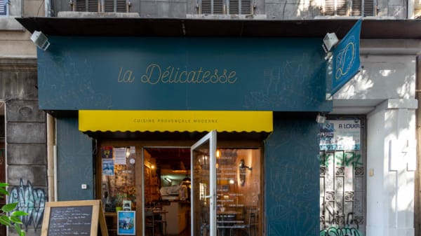 Entrée - La Délicatesse, Marseille